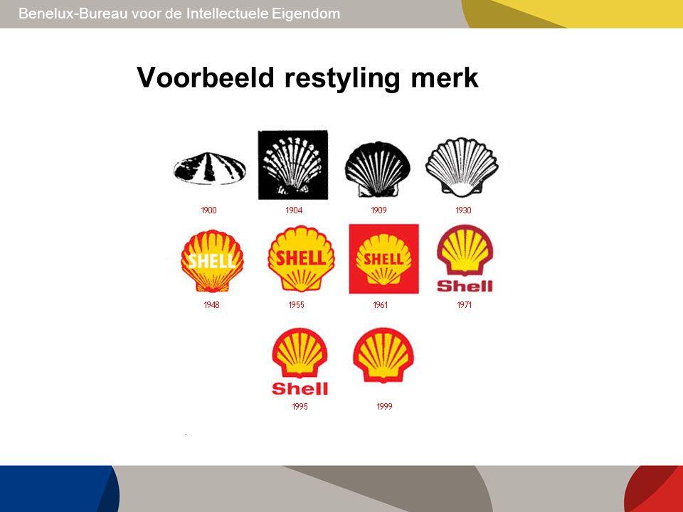 Voorbeeld restyling merk