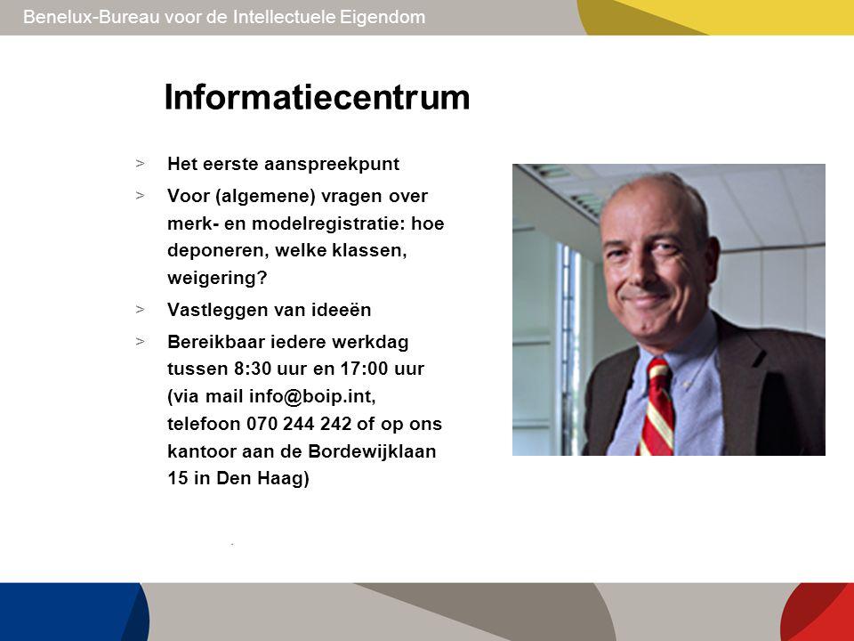 Informatiecentrum Het eerste aanspreekpunt