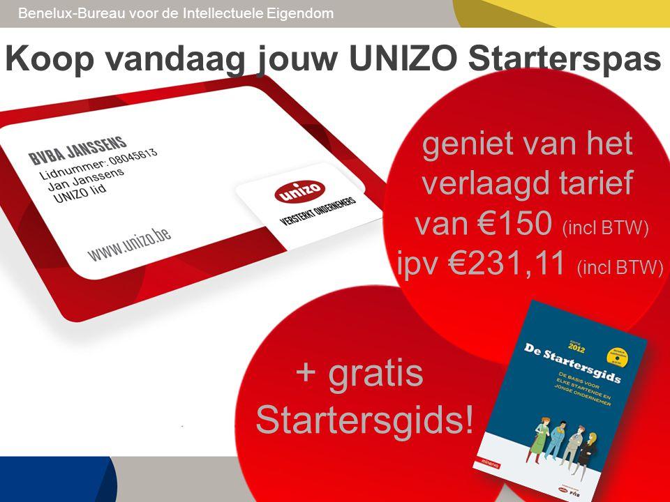 + gratis Startersgids! Koop vandaag jouw UNIZO Starterspas