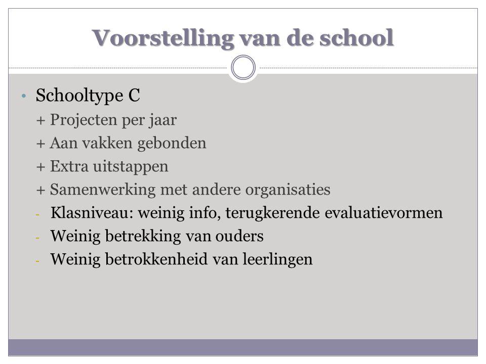Voorstelling van de school