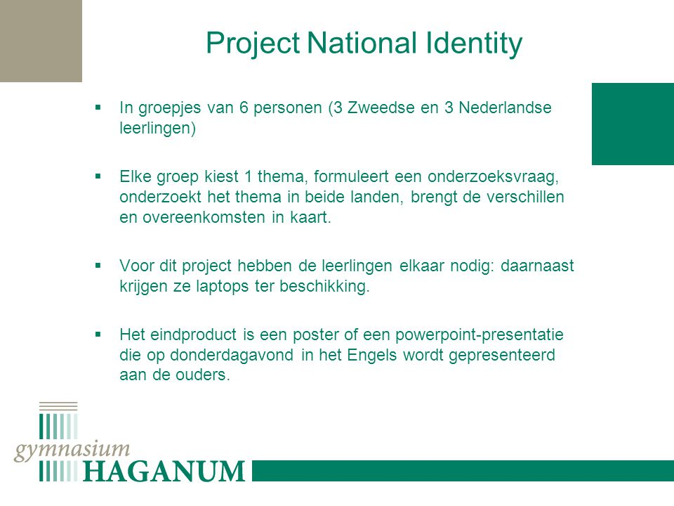 Project National Identity