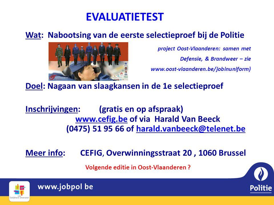 Volgende editie in Oost-Vlaanderen