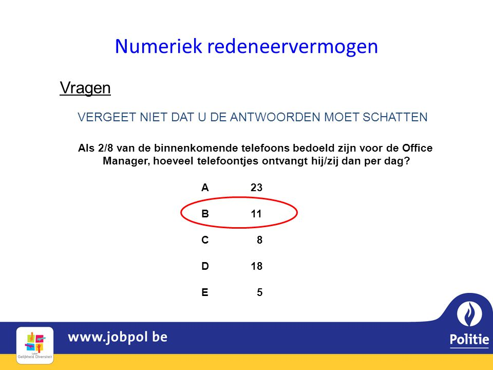 Numeriek redeneervermogen