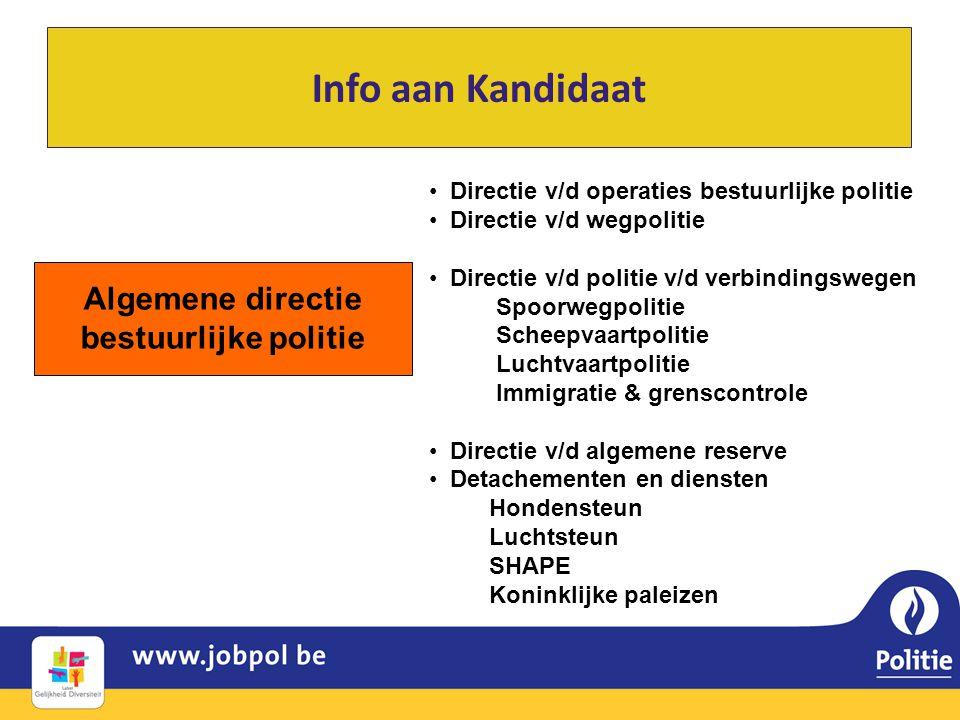 Algemene directie bestuurlijke politie
