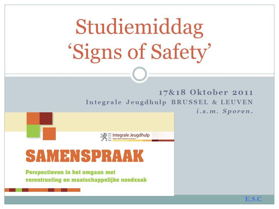 Studiemiddag 'Signs of Safety'