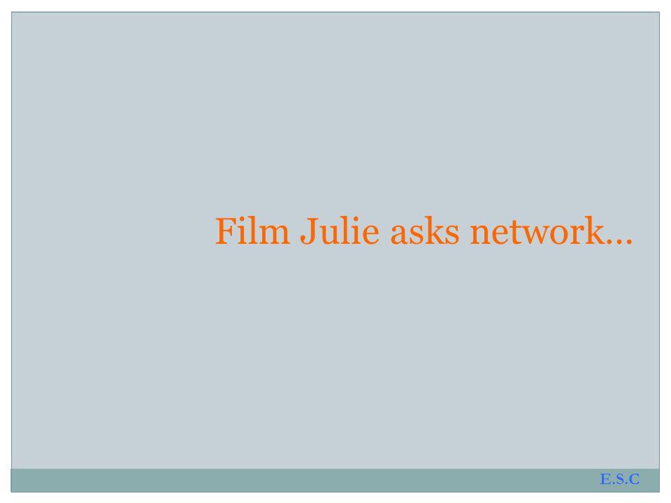Film Julie asks network…