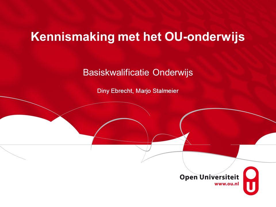 Kennismaking met het OU-onderwijs