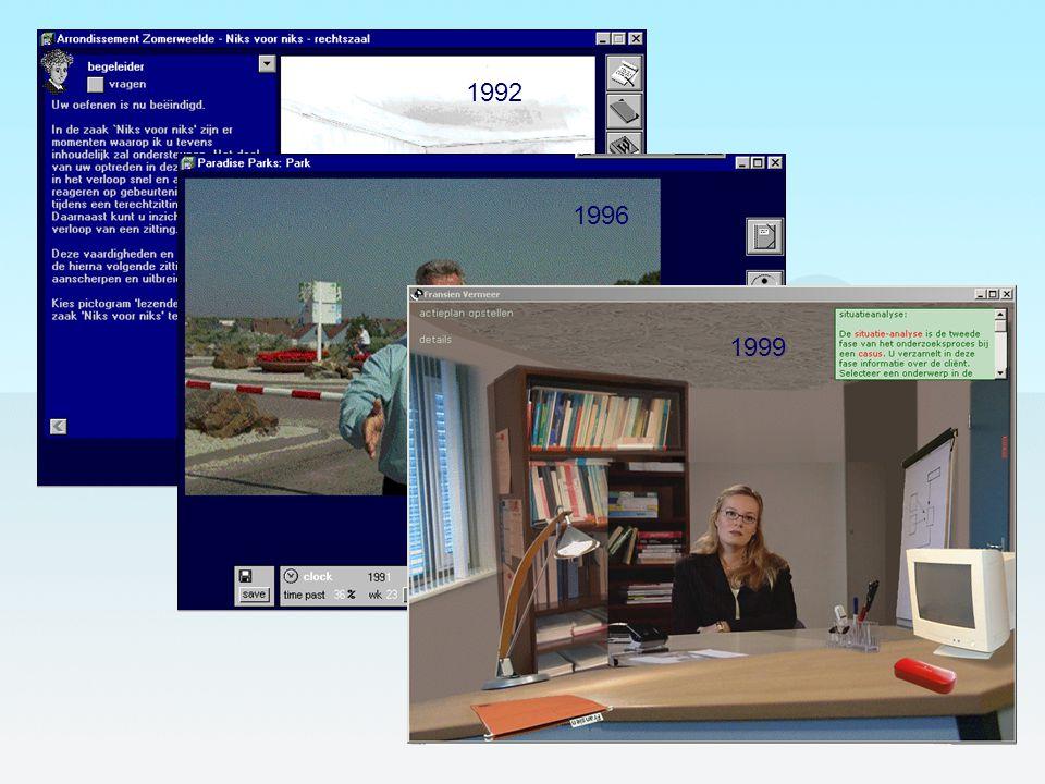 1992 1996. 1999.