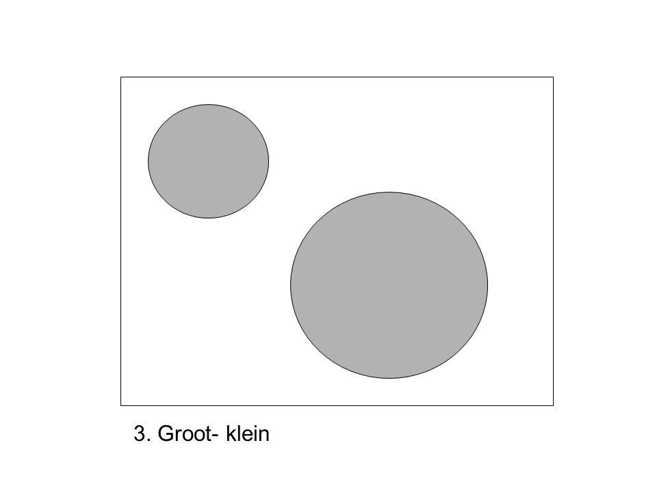 3. Groot- klein