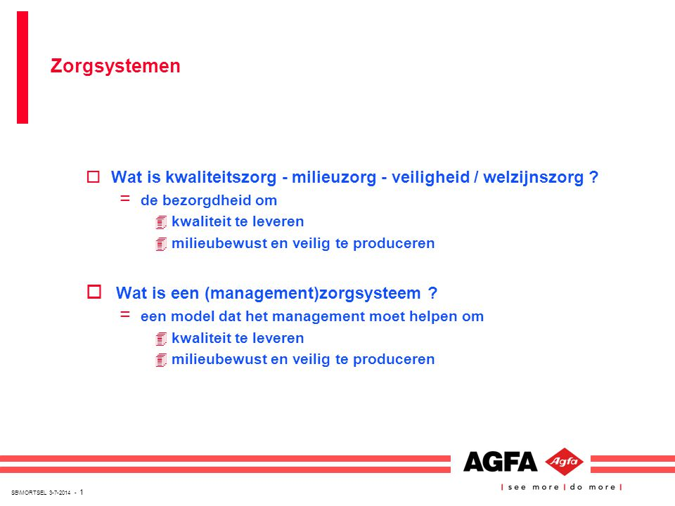 Wat is een (management)zorgsysteem