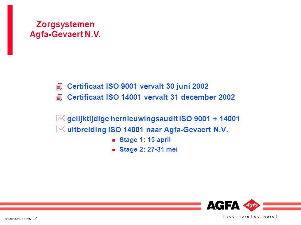 Zorgsystemen Agfa-Gevaert N.V.