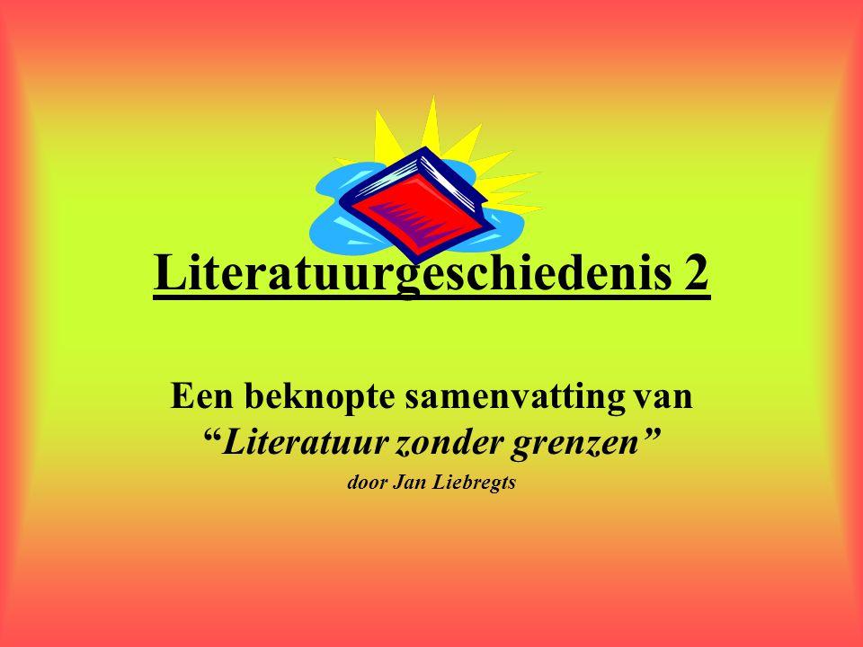 Literatuurgeschiedenis 2