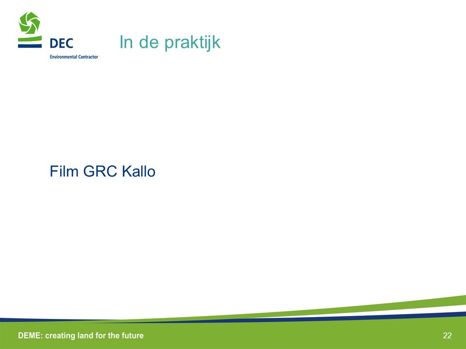 In de praktijk Film GRC Kallo