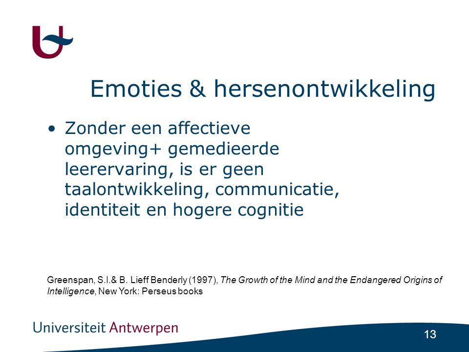 Emoties & hersenontwikkeling