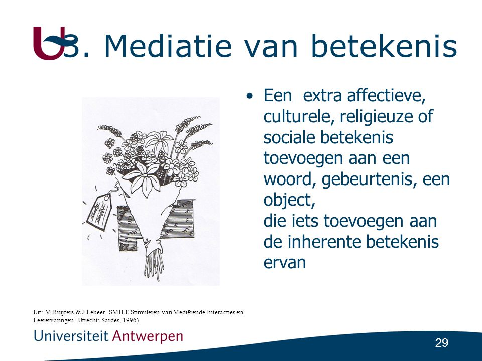 3. Mediatie van betekenis