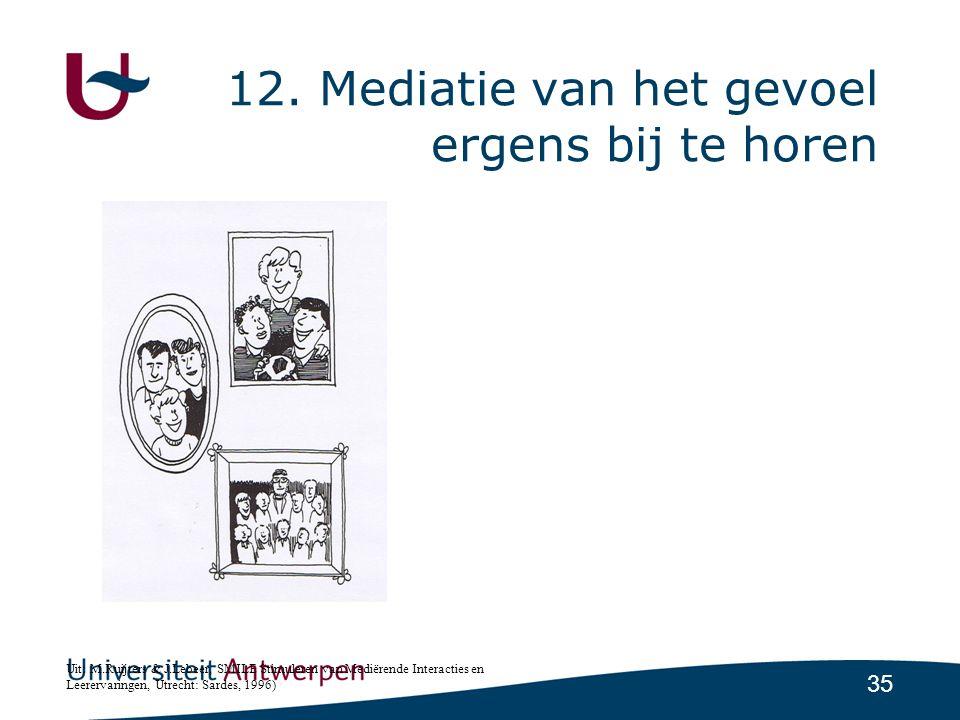 12. Mediatie van het gevoel ergens bij te horen