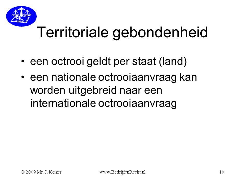 Territoriale gebondenheid