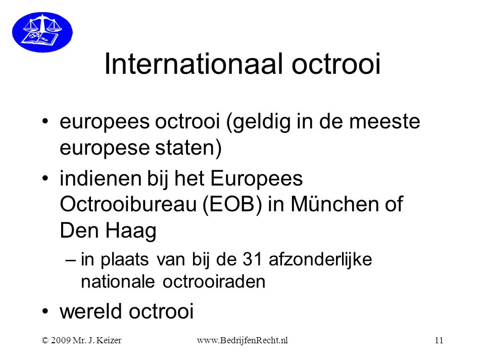 Internationaal octrooi