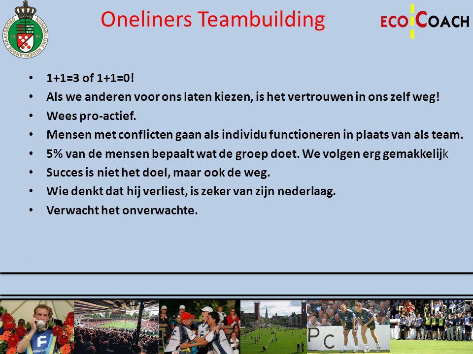 Oneliners Teambuilding