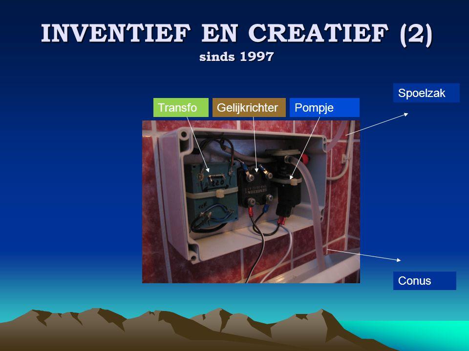 INVENTIEF EN CREATIEF (2) sinds 1997