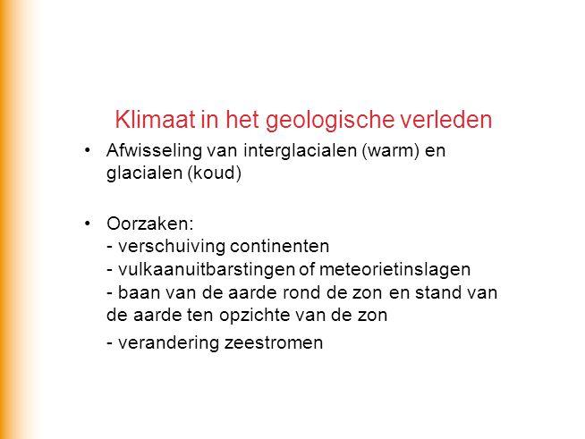 Klimaat in het geologische verleden