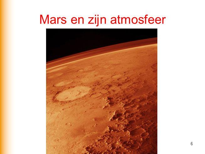 Mars en zijn atmosfeer