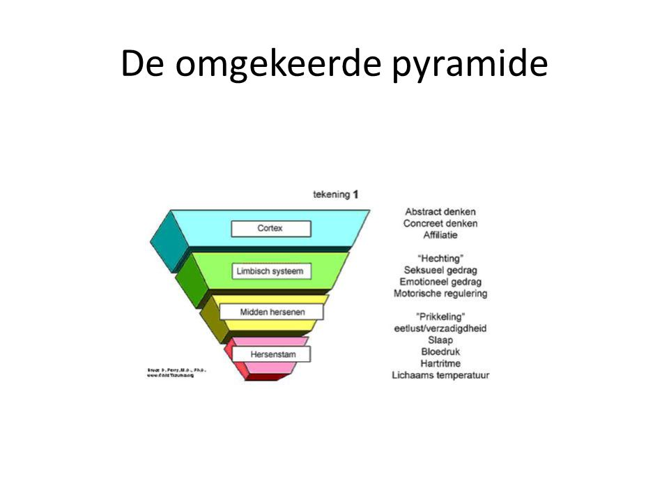 De omgekeerde pyramide
