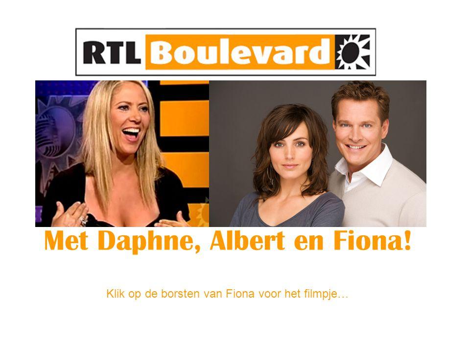 Met Daphne, Albert en Fiona!
