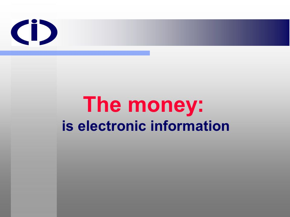 is electronic information