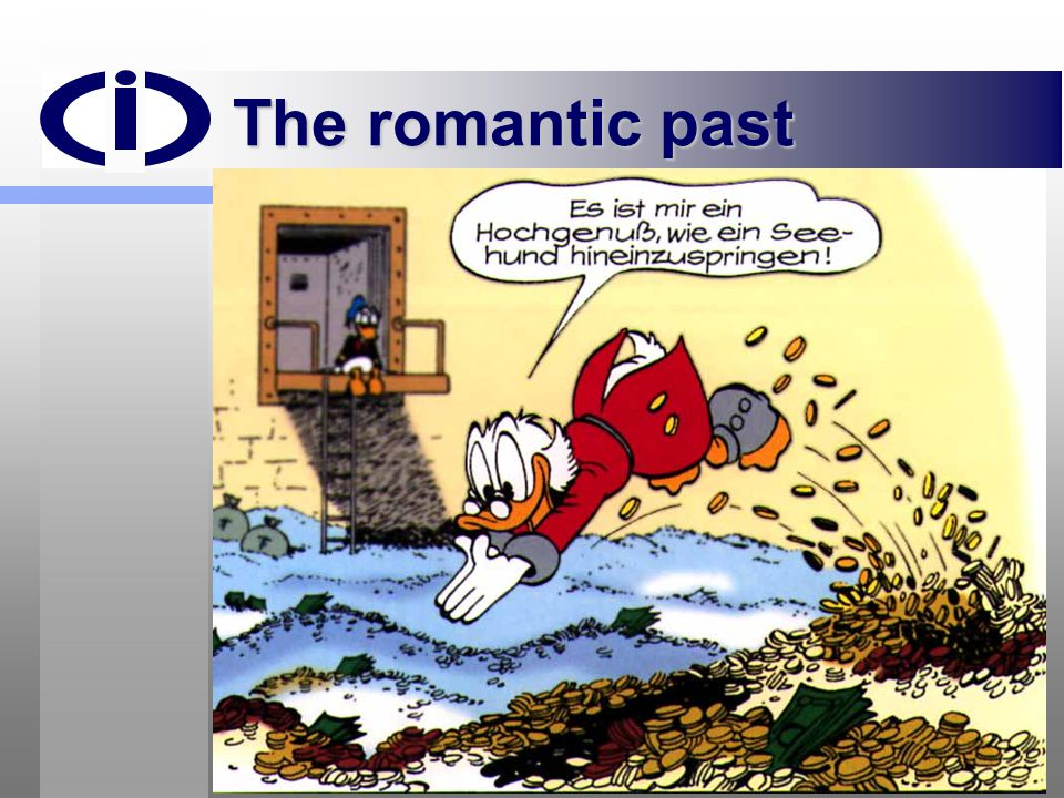 The romantic past