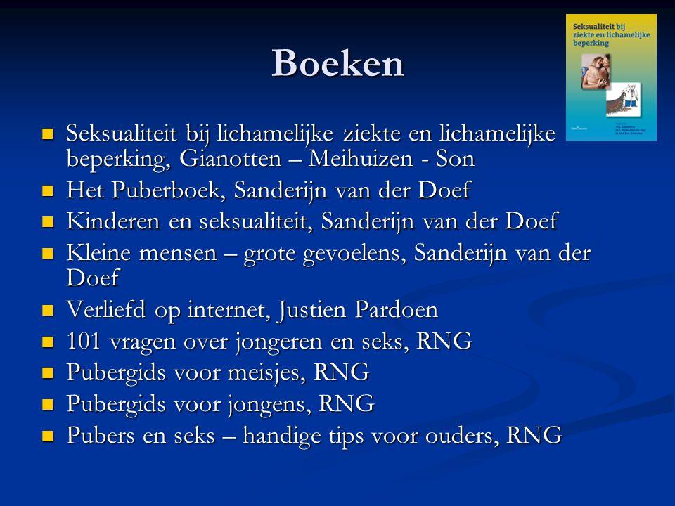 Boeken Seksualiteit bij lichamelijke ziekte en lichamelijke beperking, Gianotten – Meihuizen - Son.
