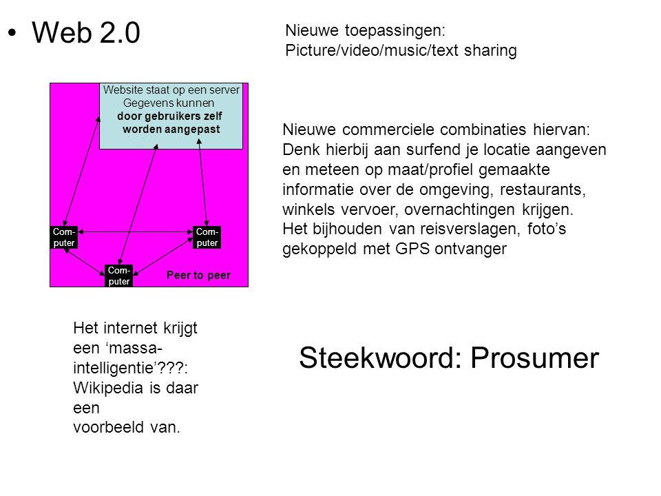 Web 2.0 Steekwoord: Prosumer
