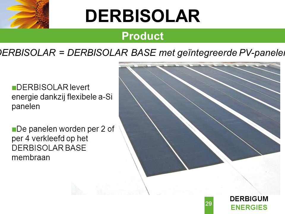 DERBISOLAR = DERBISOLAR BASE met geïntegreerde PV-panelen