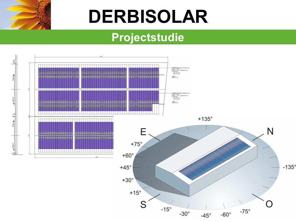 DERBISOLAR Projectstudie Surface : 2000m²