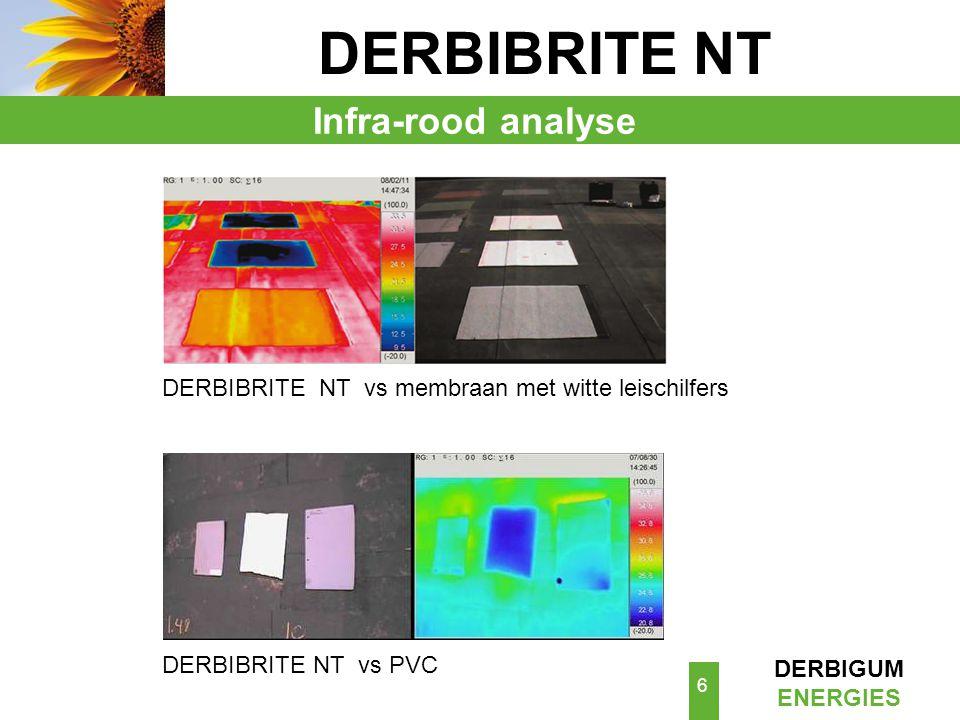 DERBIBRITE NT Infra-rood analyse