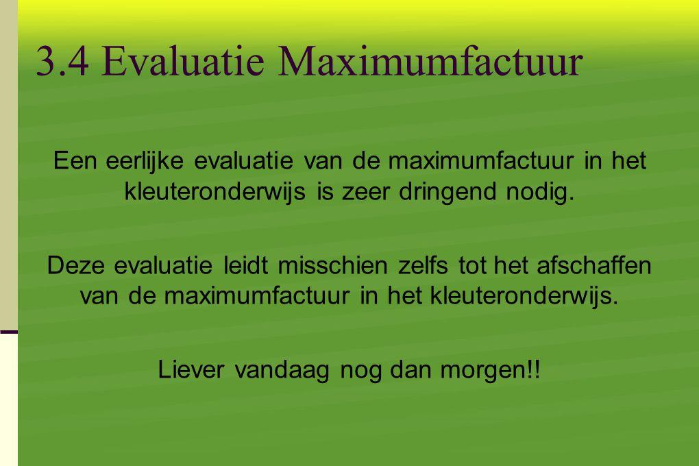 3.4 Evaluatie Maximumfactuur