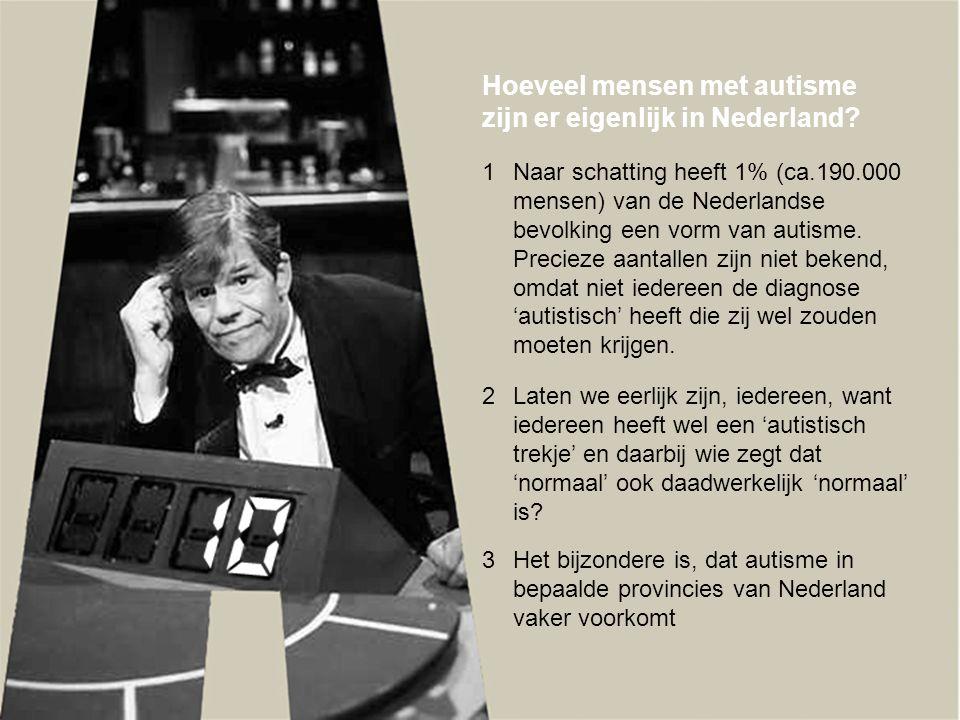 Hoeveel mensen met autisme zijn er eigenlijk in Nederland