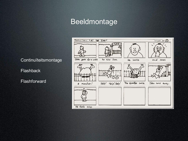 Beeldmontage Continuïteitsmontage Flashback Flashforward