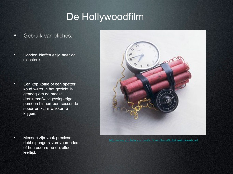 De Hollywoodfilm Gebruik van clichés.