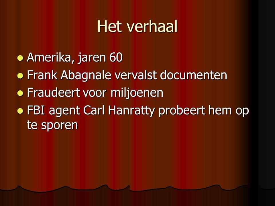 Het verhaal Amerika, jaren 60 Frank Abagnale vervalst documenten