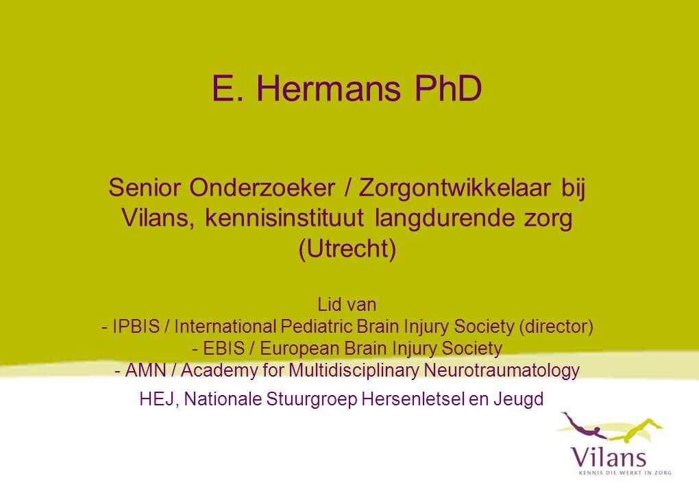 HEJ, Nationale Stuurgroep Hersenletsel en Jeugd