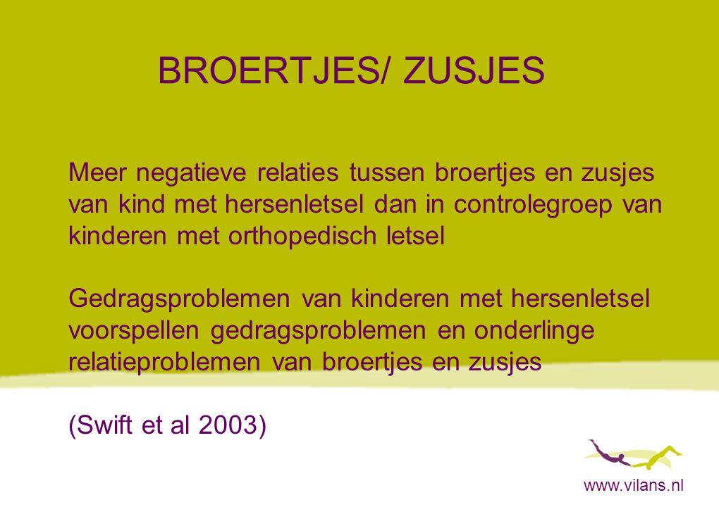 BROERTJES/ ZUSJES Meer negatieve relaties tussen broertjes en zusjes