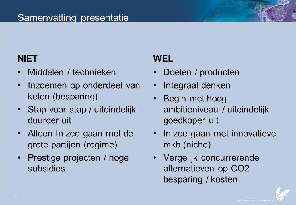 Samenvatting presentatie