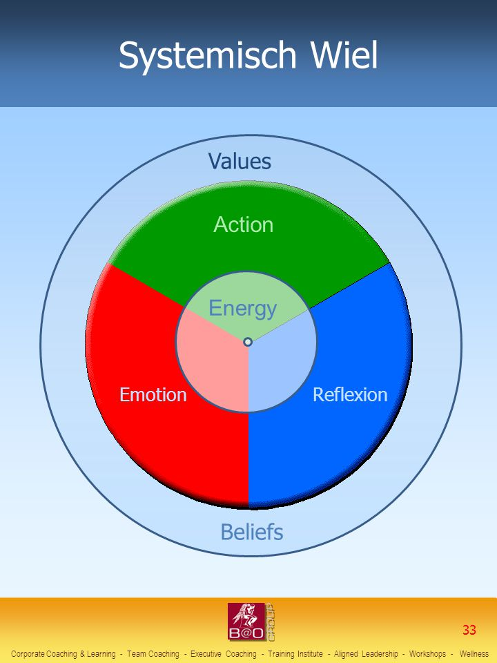 Systemisch Wiel Values Action Energy Beliefs Emotion Reflexion 33