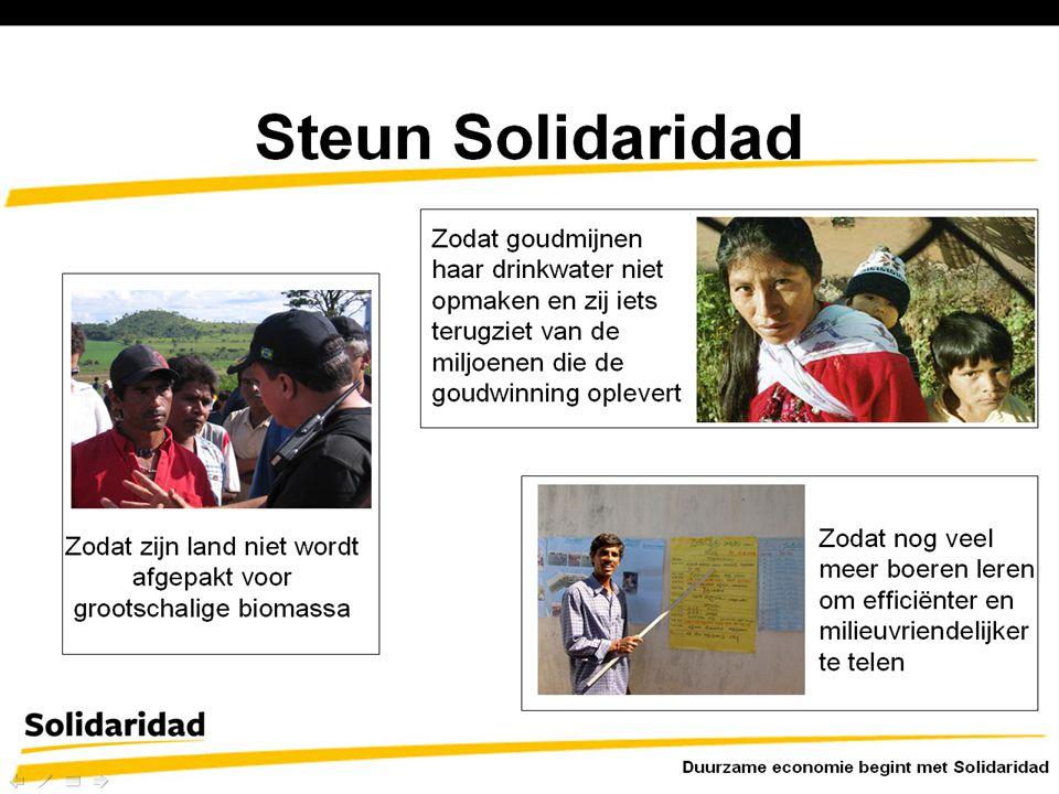 Solidaridad zal haar werkzaamheden voortzetten