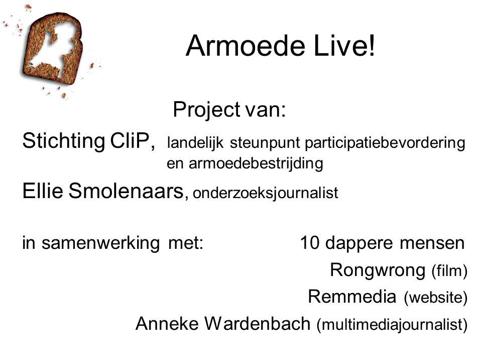 Armoede Live! Project van: