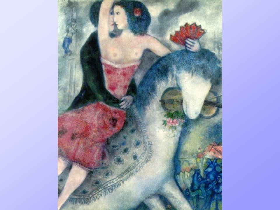 L'Equestrienne, Marc Chagall