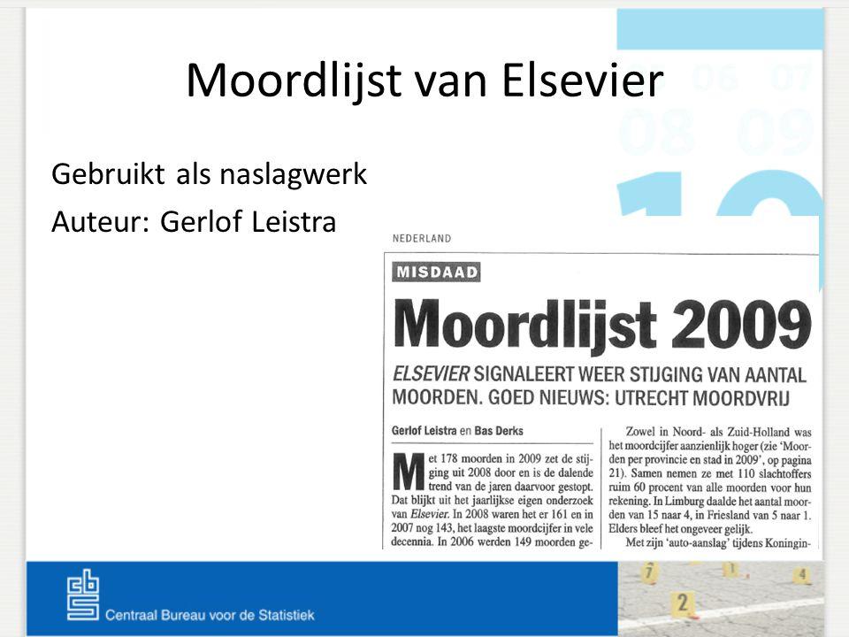 Moordlijst van Elsevier