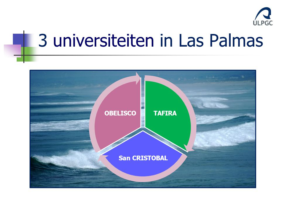 3 universiteiten in Las Palmas