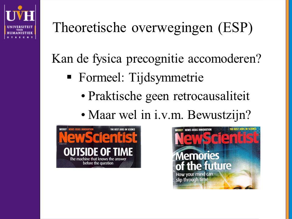 Theoretische overwegingen (ESP)